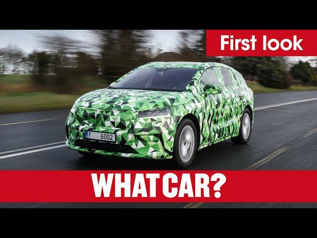 NEW 2021 Skoda Enyaq – 300-mile electric SUV driven | What Car?
