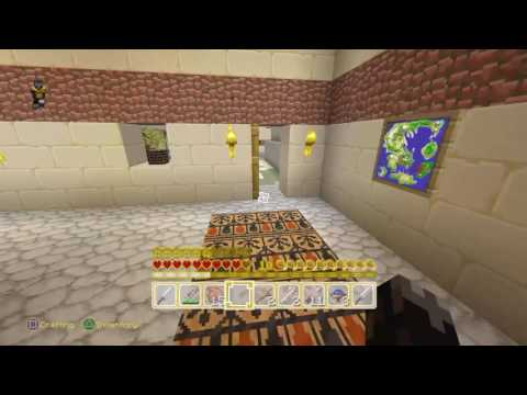 minecraft ps4- team hunger games