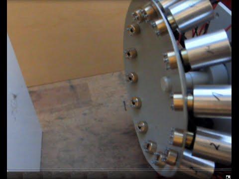100 Watts DEATH STAR Laser Array Test: Meat, steel, wood, white plastic