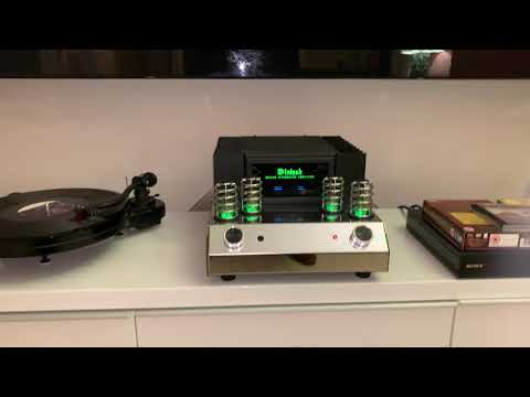 McIntosh MA 252 and PMC. LP vs CD.