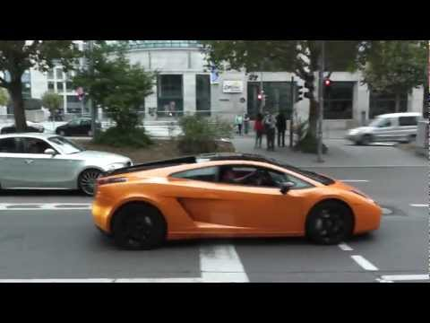 Supercars Accelerating in Stuttgart !!!