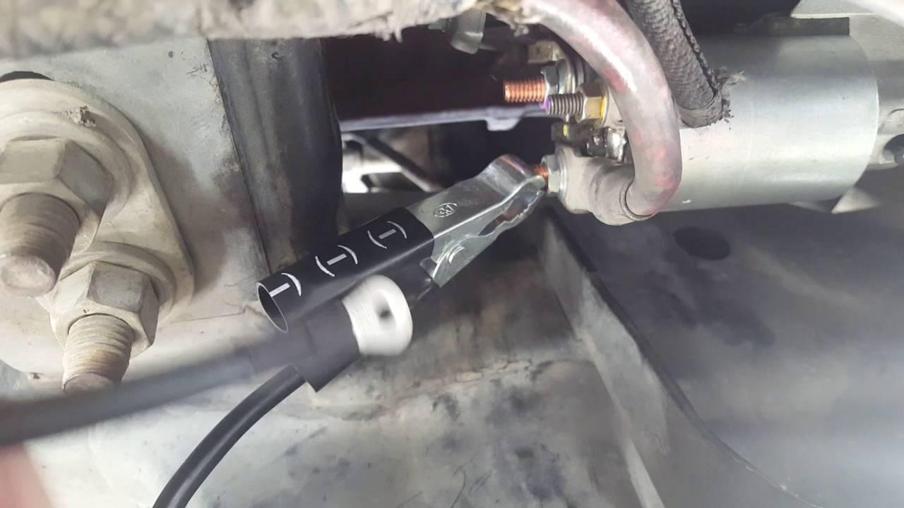 2007 F150 Starter Test for no crank no start  YouTube