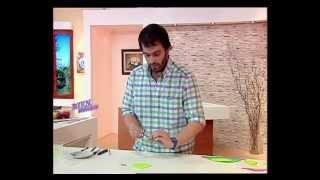 Alfredo Aguirre - Bienvenidas TV - Realiza un Plato Tortuga en Goma Eva.
