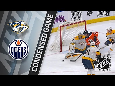 12/14/17 Condensed Game: Predators @ Oilers