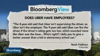 Does Uber Have Employees? Noah Feldman