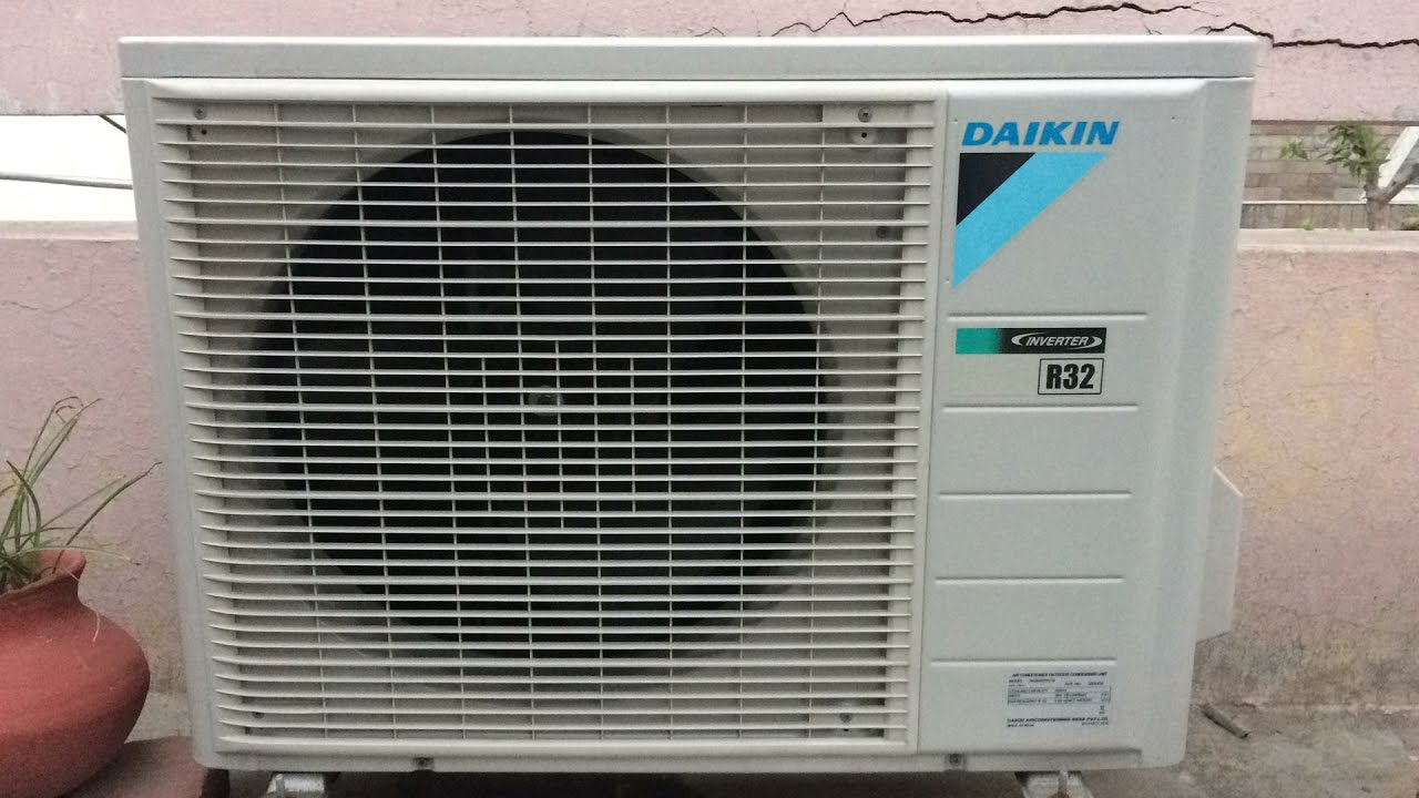 How To Clean Air Conditioner Outside Unit Youtube