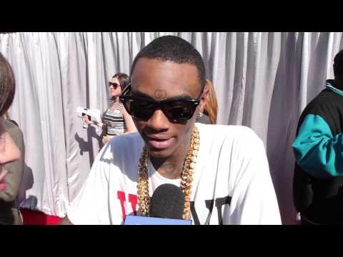 Soulja Boy Freestyle Rap Interview- Streamys Red Carpet 2013