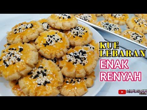 Resep Kue Kering Kelapa Gurih dan Renyah.