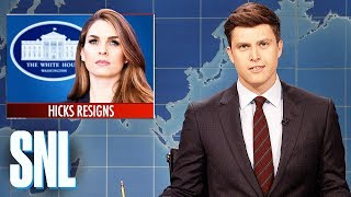 Weekend Update on Hope Hicks