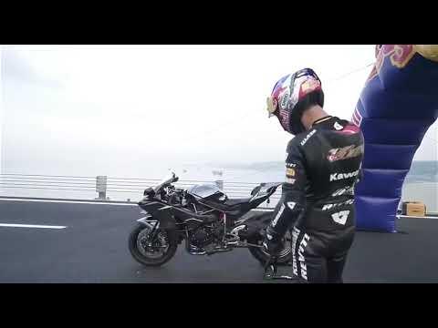 400 km/h Kawasaki Ninja H2R. Турция. Мировой рекорд. Кенан Софуглу.