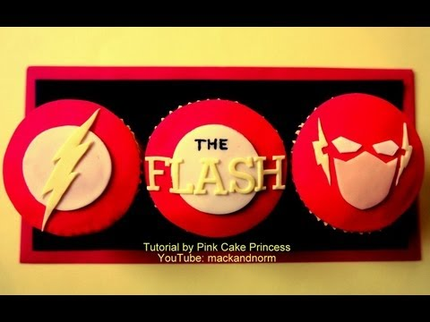 Flash Gordon Birthday Cake