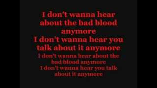 Repeat youtube video Bastille - Bad Blood Lyrics