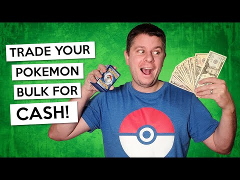Trade your Pokemon Bulk for CASH!!! Global Recommendations on where to send your Pokemon Cards!