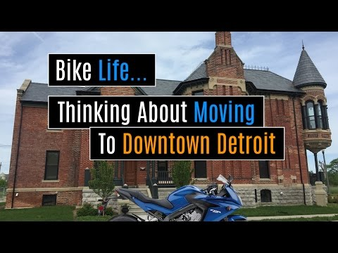 Thinking About Moving To Downtown Detroit While Cruising Belle Isle