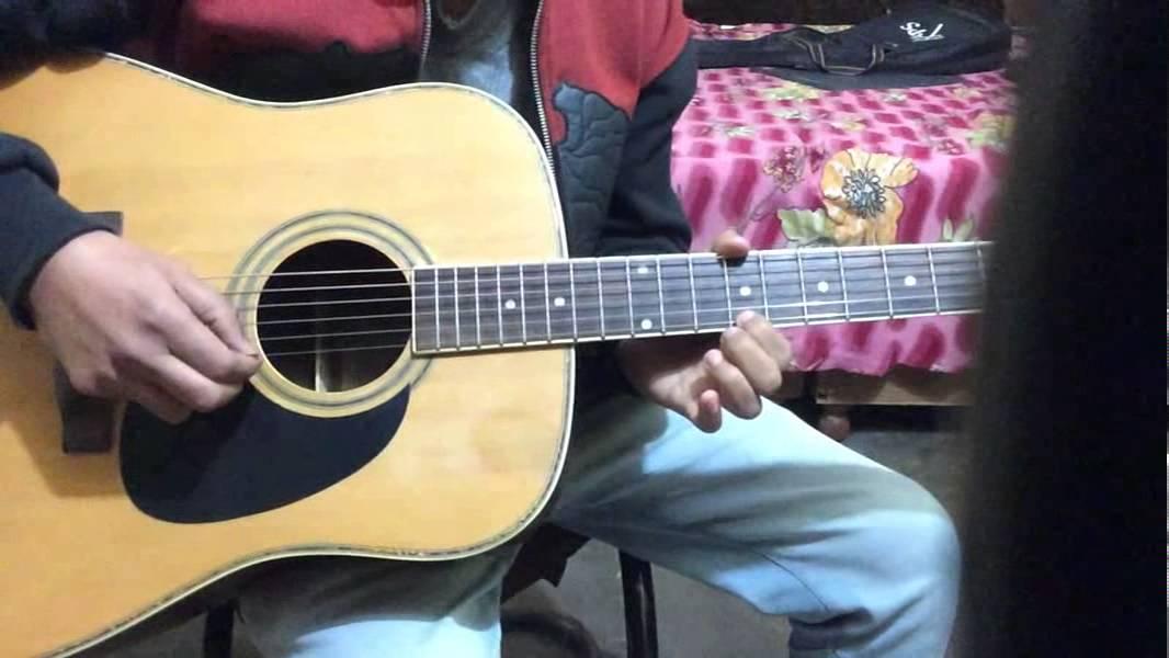 Raag khamaj 3rd Line Lesson #4 Part 3 on guitar...... - YouTube