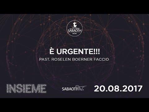 Domenica Gospel @ Milano    E' Urgente!!!  - Pastore Roselen   20.08.2017
