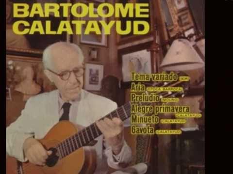 Tango Argentino - Bartolomé Calatayud (Dúo Carlos y Manuel Martin - 1995)