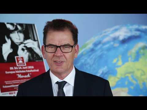 Grußwort zur Eröffungsveranstaltung von Dr. Gerd Müller