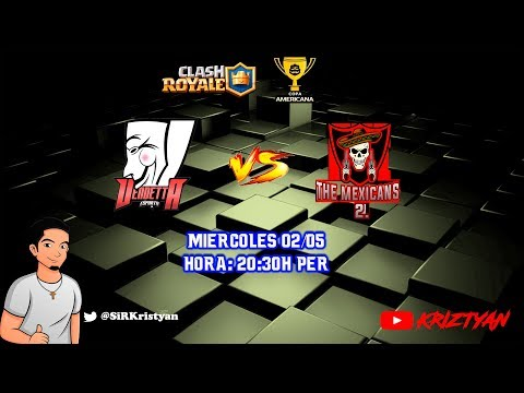 Vendetta eSports vs The Mexicans 2 - Copa Americana