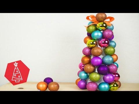 Rbol de esferas navidad bigcrafts youtube - Esferas de navidad ...