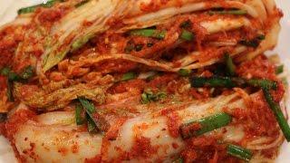 How to Make Korean Kimchi របៀបធ្វើគីមជី