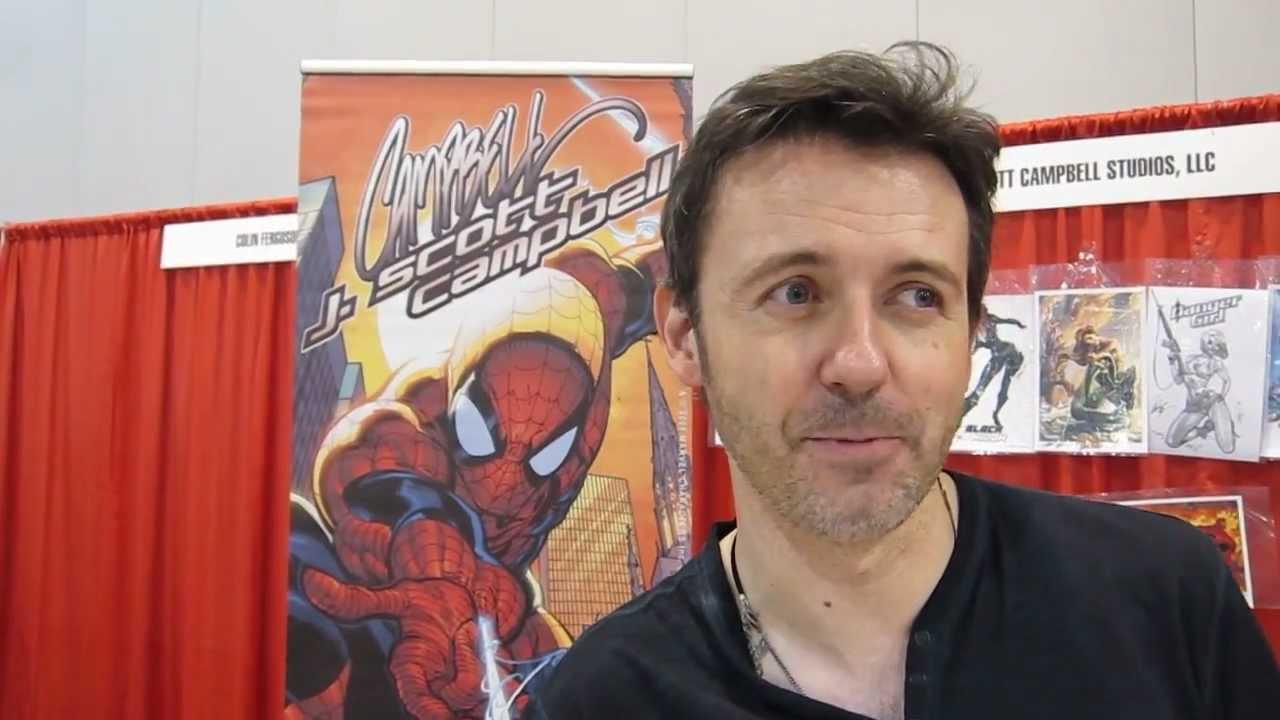 j scott campbell artist interview denver comic con 2012