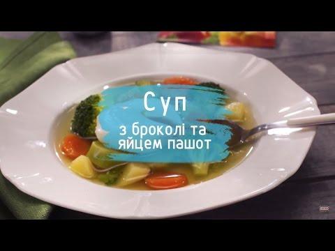 Яйцо пашот в супе
