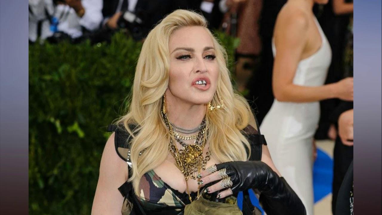 Madonna teases 2018 tour plans - YouTube