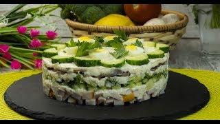 """Salata """"Găinușa delicioasă"""" – o un aperitiv pe placul tuturor oaspeților!"""