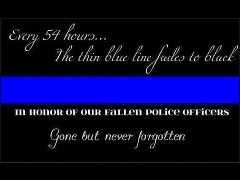 Police Tribute - Officer Down - Hannah Ellis
