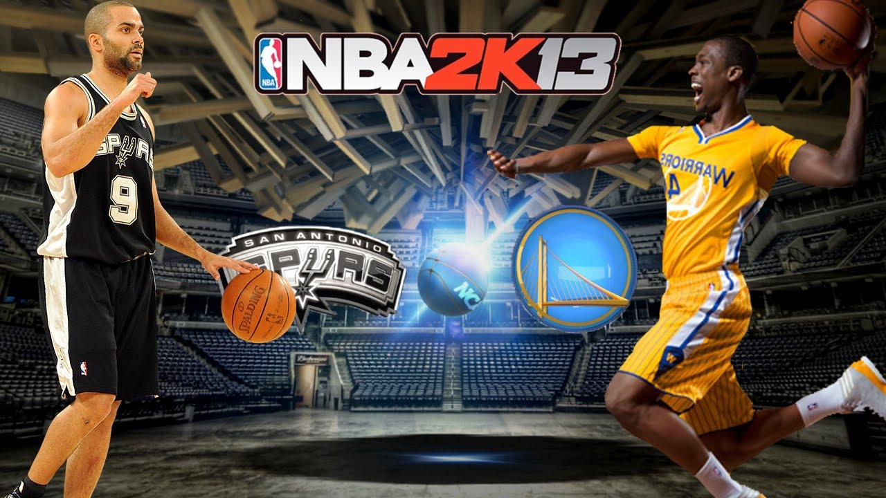 ... NBA 2K13 - Spurs vs GS Warriors - First Game In The Warriors Alternate  Jersey With ... ae39e1077