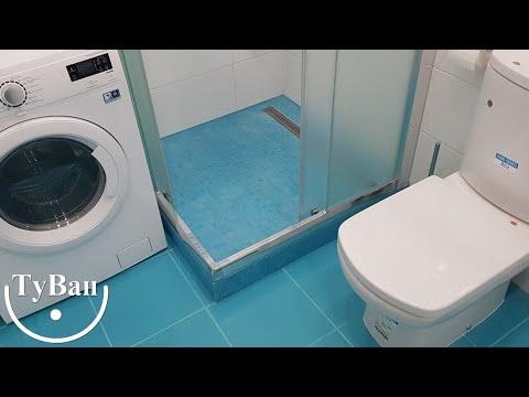 Замечательный дизайн в интерьере ванной комнаты