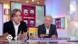 Riss, le patron de Charlie face aux menaces - C à Vous - 10/11/2017