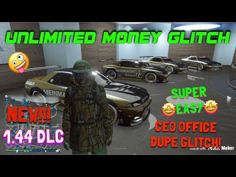 *NEW!* CEO OFFICE MONEY GLITCH! | EASY $50,0000,000 FAST! AFTER PATCH 1.44 (ps4 xb1)