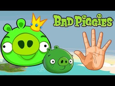 BAD PIGGIES Finger Family Nursery Rhymes | MY FINGER FAMILY RHYMES