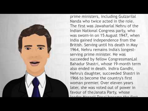 List of Prime Ministers of India - Wiki Videos