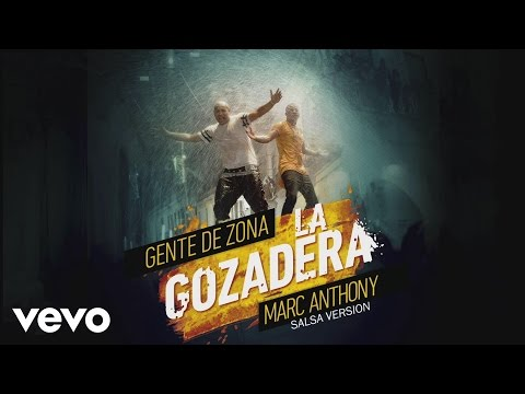 Gente de Zona - La Gozadera (Salsa Version)[Cover Audio] ft. Marc Anthony
