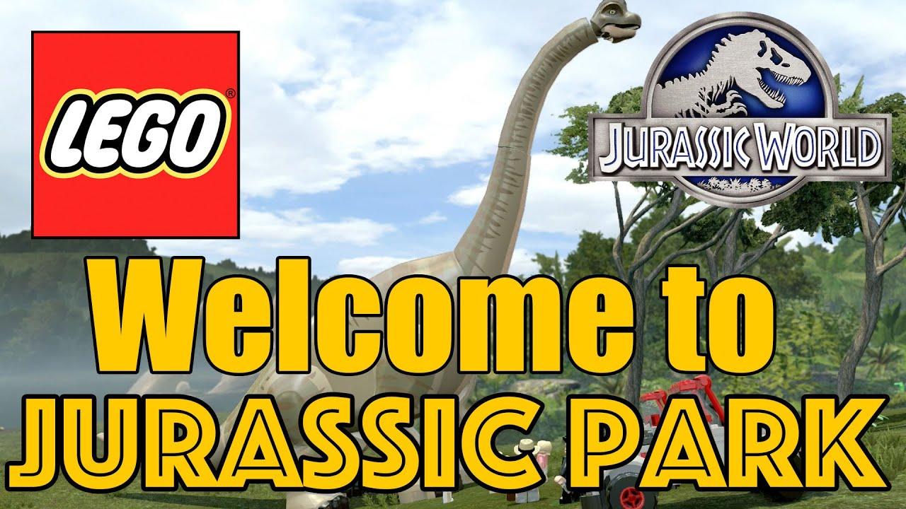 lego jurassic world  welcome to jurassic world  xbox one