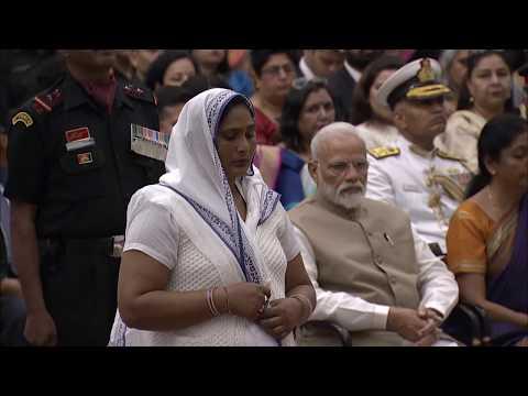 President Kovind presents Kirti Chakra to Sepoy Vrahma Pal Singh (Posthumous)