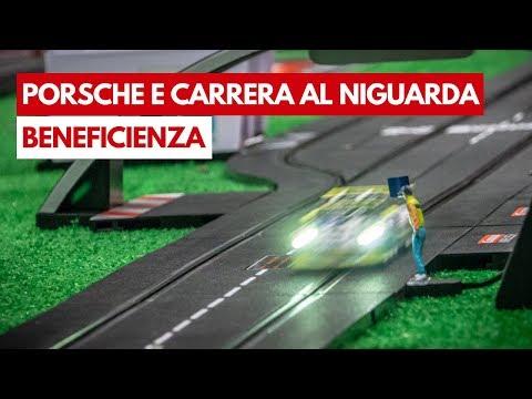 Porsche e Carrera   Beneficienza motorsport all'Ospedale Niguarda di Milano