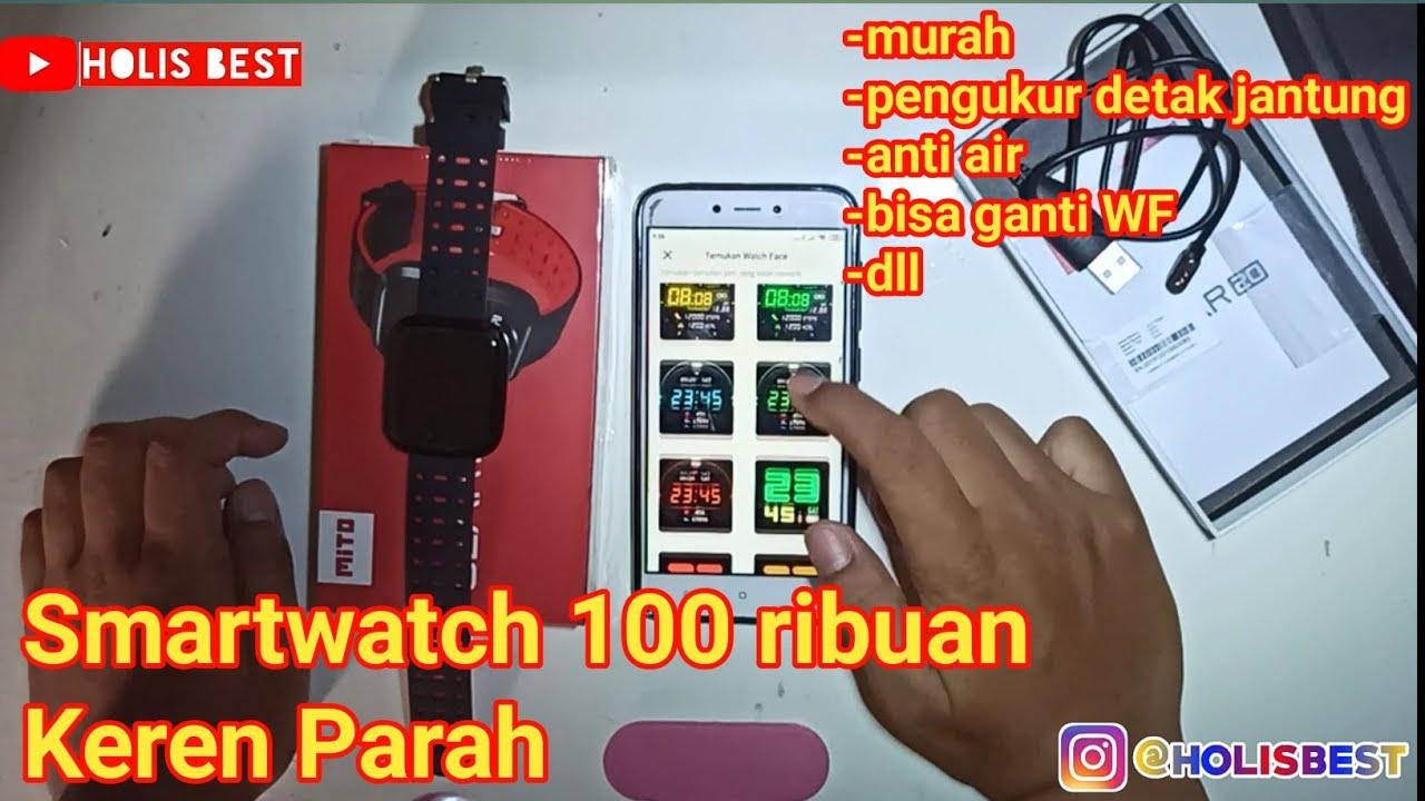 Smartwatch Keren Murah | Produk Lokal Mito Gear 20 Unboxing dan Review Indonesia Terbaru