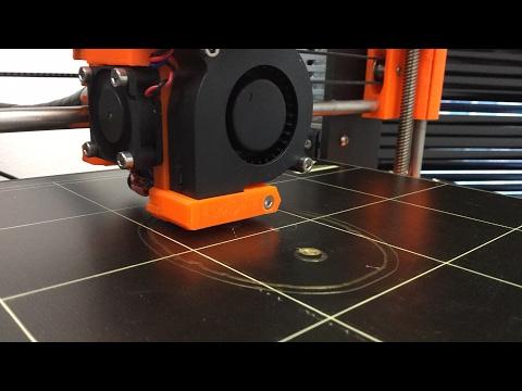 Printing a skull