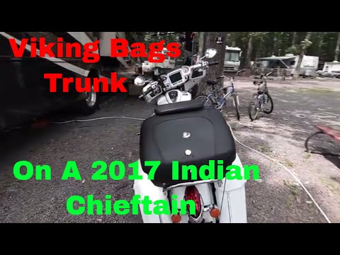 2017 Indian Chieftain  Trunk Alternative - Indian Motorcycles