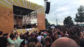 Adam Beyer b2b Ida Engberg @ Pollerwiesen MINUS - 19.07.2015 - Leverkusen - Video 1
