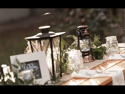 Rustic barn wedding centerpieces youtube rustic barn wedding centerpieces junglespirit Choice Image