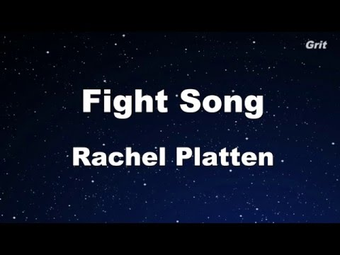 Fight Song - Rachel Platten Karaoke 【No Guide Melody】Instrumental