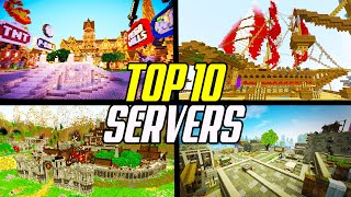 Top 10 BEST Minecraft Servers 1.16 2020 (Survival/Skyblock/Factions)