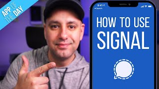 How to Use Signal Private Messenger App screenshot 1