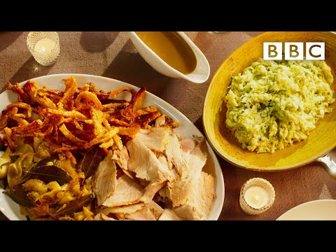 Mary Berry's heavenly slow-roast pork w/ Colcannon mash - BBC