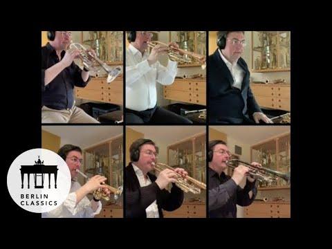 Matthias Höfs: Trumpet Excerpts - Fantasy (Stephan Peiffer) - Split Screen Music Video
